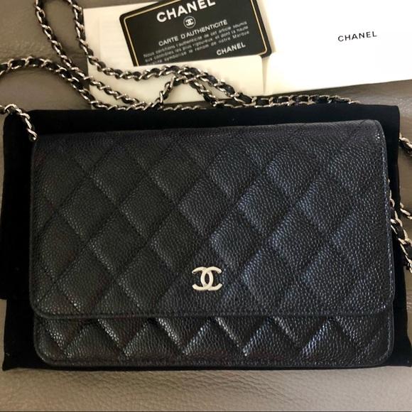 645d766a0012 CHANEL Handbags - CHANEL WOC - Black Caviar
